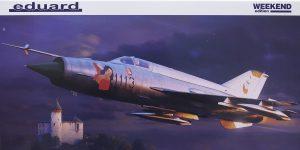 MiG-21 MF in 1:48 als WEEKEND von Eduard #84177