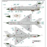 Eduard-84177-MiG-21-MF-Weekend-Bauanleitung-13-150x150 MiG-21 MF in 1:48 als WEEKEND von Eduard #84177
