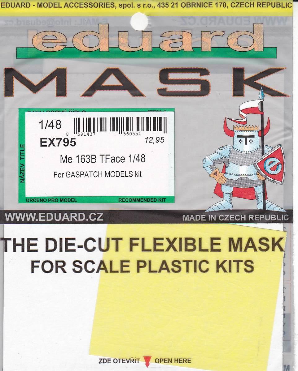 Eduard-EX-795-Me-163-TFACE-1 Eduard Maskensets für die Me 163B von Gaspatch # EX 794 und 795