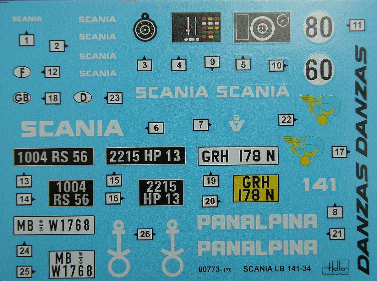 Heller-80773-Scania-LB-141-43 Scania LB-141 (#80773), Heller, 1:24