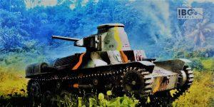 Type 95 Ha-Go Japanese Light Tank in 1:72 von IBG #72088