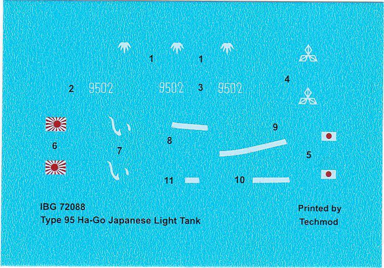 IBG-72088-Type-95-Ha-Go-Japanese-Light-Tank-25 Type 95 Ha-Go Japanese Light Tank in 1:72 von IBG #72088