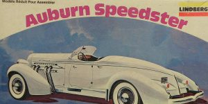 Kit-Archäologie: 1935er Auburn Speedster (1:25) von Lindberg #369