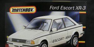 Kit-Archäologie: Ford Escort XR-3 in 1:25 von Matchbox #40381