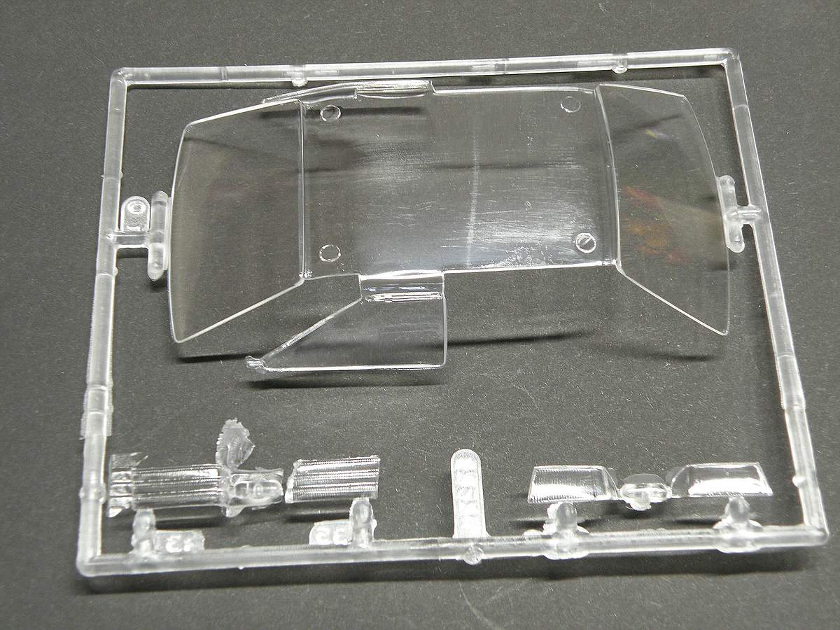 Matchbox-40381-Ford-Escort-XR-3-11 Kit-Archäologie: Ford Escort XR-3 in 1:25 von Matchbox #40381