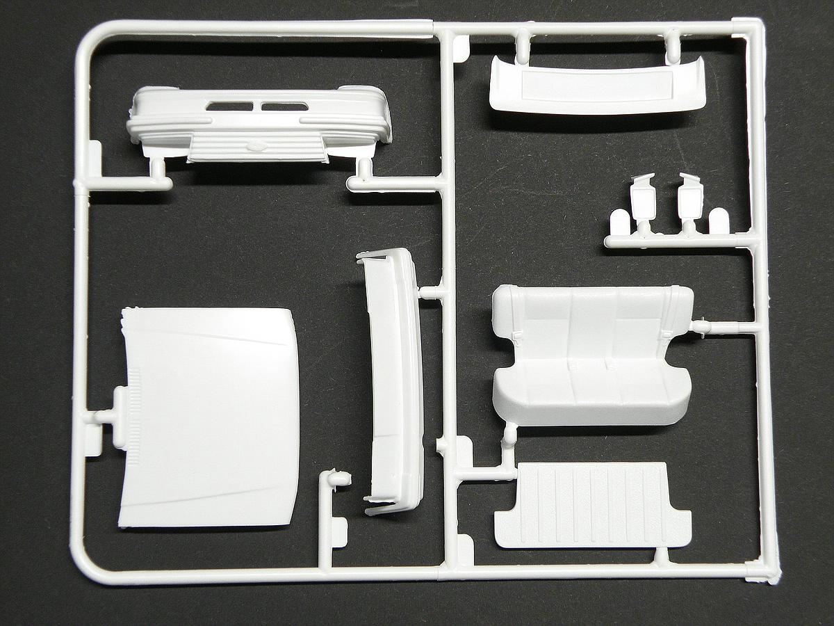 Matchbox-40381-Ford-Escort-XR-3-5 Kit-Archäologie: Ford Escort XR-3 in 1:25 von Matchbox #40381