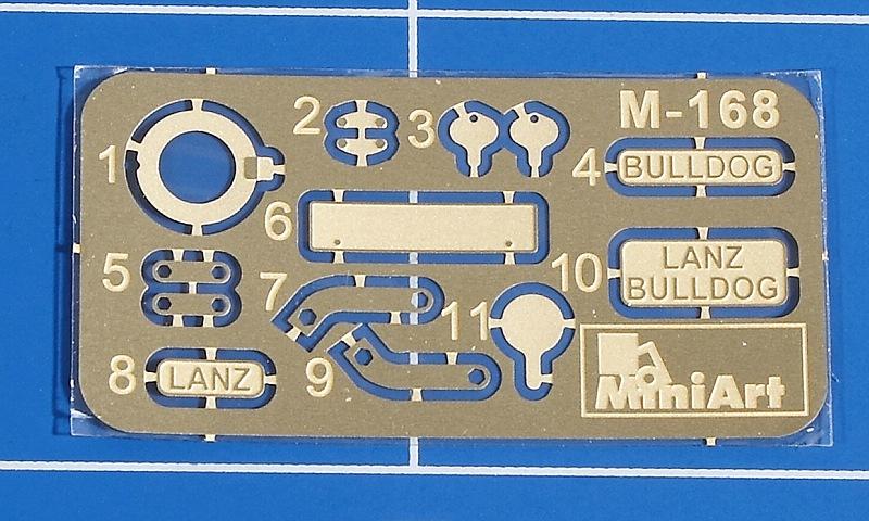 MiniArt-35317-LANZ-Bulldog-D8506-with-cargo-Trailer-10 Lanz D 8506 mit Anhänger in 1:35 von MiniArt # 35317