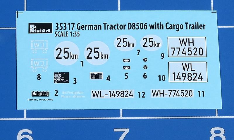 MiniArt-35317-LANZ-Bulldog-D8506-with-cargo-Trailer-7 Lanz D 8506 mit Anhänger in 1:35 von MiniArt # 35317
