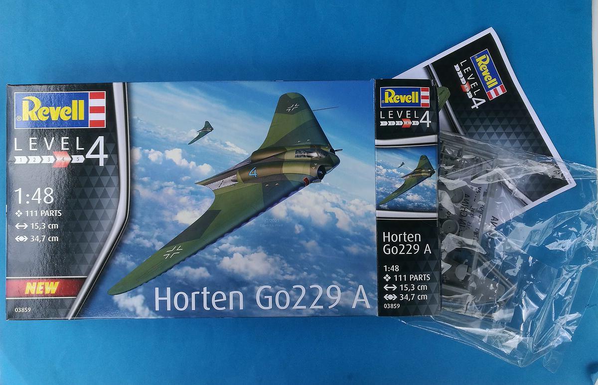 Revell-03859-Horten-Go-229-48 Horten Ho 229 in 1:48 von Revell #03859