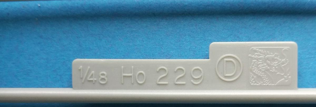 Revell-03859-Horten-Go-229-50 Horten Ho 229 in 1:48 von Revell #03859