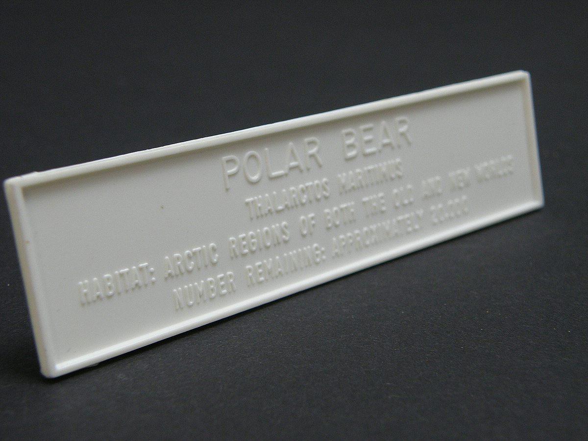 Revell-6464-Eisbaer-13 Kit-Archäologie: Eisbär (Polar-Bär) von Revell, 1:? #6464