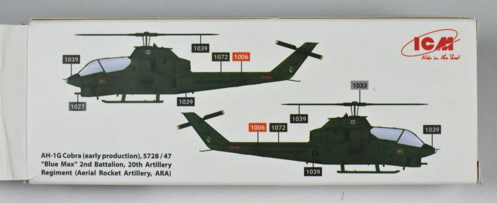 Review_ICM_Cobra_Color_Set_02 ICM-Farbset für die AH-1G Cobra - kurzer Praxistest