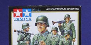 WW II German Infantry in 1:48 von Tamiya #32602