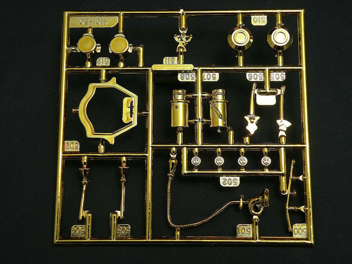 AMT-Matchbox-PK-4101-Thomas-Flyer-23 Kit-Archäologie: Thomas Flyer in 1:25 von AMT / Matchbox #PK-4101