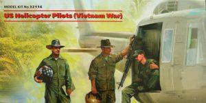 US Helicopter Pilots (Vietnam War) 1:32 ICM (#32114)