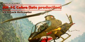 AH-1G Cobra (late production) 1:32 ICM (#32061)