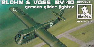 Blohm&Voss BV 40 in 1:72 von Brengun #BRP72011