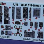 Eduard-3DL48040-Tamiya-F-4B-SPACE-5-150x150 Eduard SPACE für Tamiya F-4B Phantom # 3DL48040
