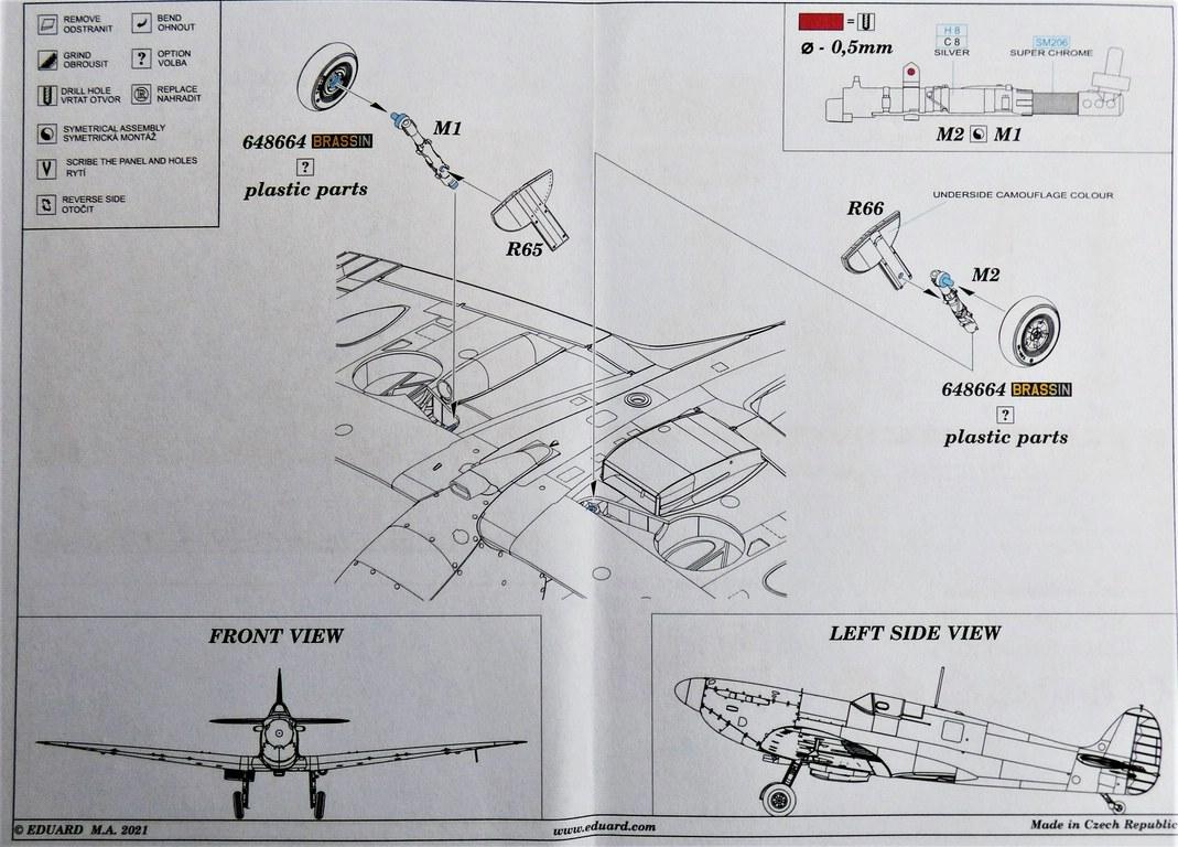 Eduard-648670-und-671-BRONZE-legs-fuer-Spitfire-Mk.-V-6 BRONZE-Legs für die Spitfires Mk. V von Eduard in 1:48 #648670 und 648671