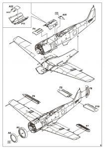 Eduard-7440-FW-190-F-8-WEEKEND-Bauanleitung-2-211x300 Eduard 7440 FW 190 F-8 WEEKEND Bauanleitung (2)