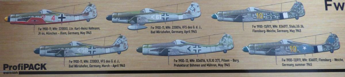 Eduard-8185-FW-190-D-11-und-D-13-2 Focke-Wulf Fw 190D-11/13 von Eduard # 8185