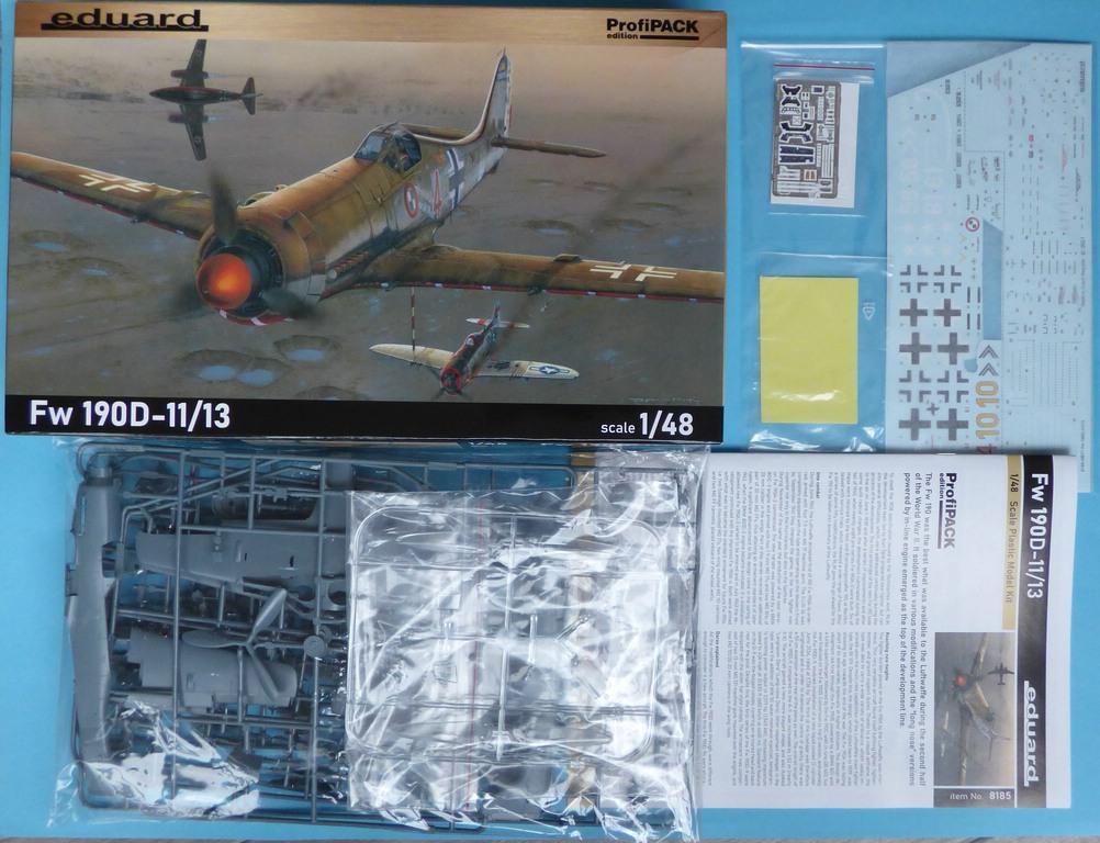 Eduard-8185-FW-190-D-11-und-D-13-3 Focke-Wulf Fw 190D-11/13 von Eduard # 8185