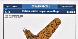Italian smoke rings camouflage in 1:48 von Eduard #D48084
