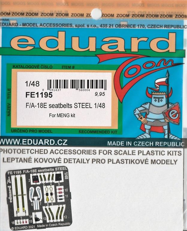 Eduard-FE-1194-und-1195-F-18-von-meng-6 Eduard Ätzteile und Masken für Mengs neue F/A-18E Super Hornet #FE1194, FE1195, EX786 und EX787