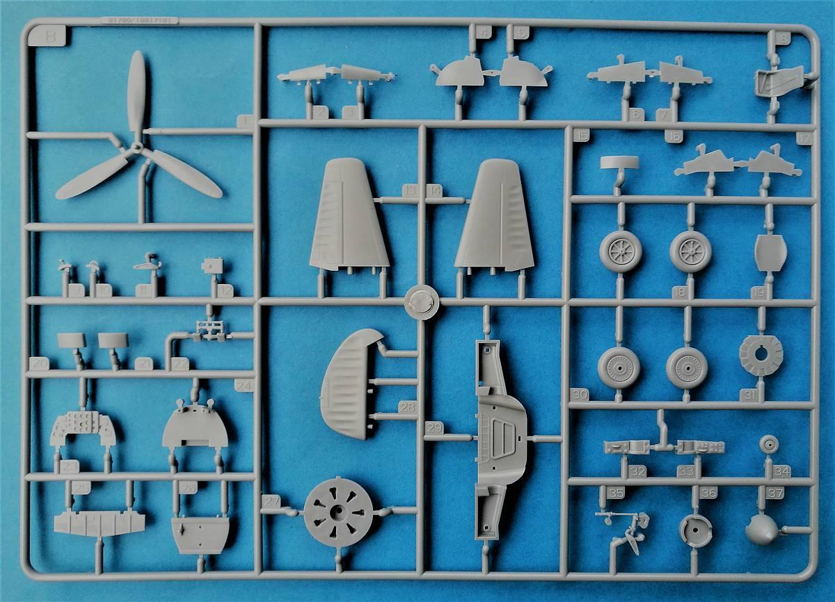 HobbyBoss-81760-La-11-Fang-12 Lavochkin -11 Fang in 1:48 von HobbyBoss # 81760