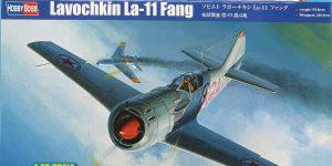 Lavochkin -11 Fang in 1:48 von HobbyBoss # 81760