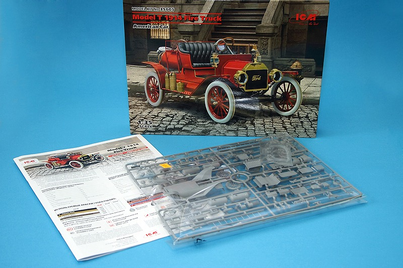 ICM-35605-Ford-Model-T-1914-Fire-Truck-18 Ford Model T 1914 Fire Truck in 1:35 von ICM # 35605