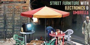 Street Furniture in 1:35 von MiniArt #35647