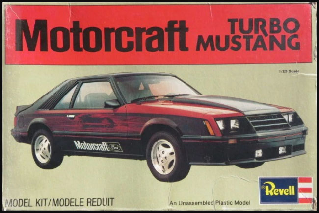 Mustang_Dealer Kit-Archäologie: Turbo Mustang with Wetbikes & Trailer (#H-7401), Revell, 1:25