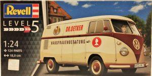 """VW T1 """"Dr. Oetker"""" von Revell (1/24) #07677"""