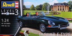 Jaguar E Type Roadster in 1:24 von Revell #07687
