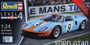 Ford GT 40 Le Mans 1968/1969 in 1:24 von Revell #07696
